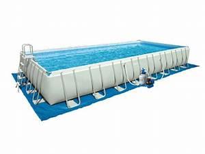 Tapis Piscine Hors Sol : tapis de sol pour piscine rectangulaire intex jardideco ~ Dailycaller-alerts.com Idées de Décoration