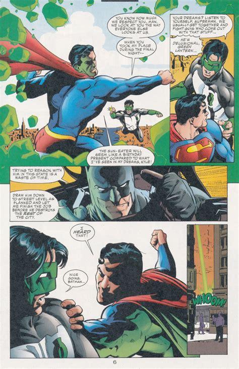 pre flashpoint superman sun dipping chronology superman