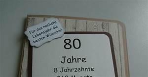 Geldgeschenke Zum 80 Geburtstag : danielas kartenwerkstatt karte zum 80 geburtstag eine besondere karte zum 50 geburtstag und ~ Frokenaadalensverden.com Haus und Dekorationen