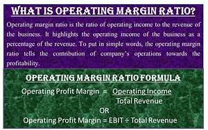 What is Operating Margin Ratio? | Significance, Importance ...