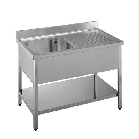 lavello cucina professionale lavello professionale acciaio inox 1 vasca gocciolatoio dx