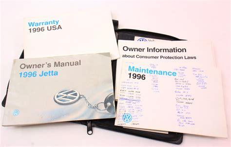 car owners manuals for sale 1996 volkswagen jetta regenerative braking 1996 vw jetta owners manual books case 93 99 vw volkswagen mk3 genuine carparts4sale inc