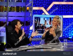Madrid - May 20: Tv Host Pablo Motos Interviews Singer ...