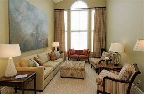long living room layout   narrow space  great