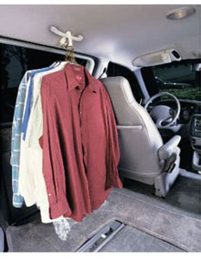 Car Clothes Carrier by Auto Clip Vehicle Clothing Hook