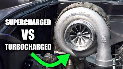 supercharger  turbocharger
