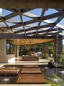 Pergola Holz Modern : pergola aus holz mit faltdach ~ Michelbontemps.com Haus und Dekorationen