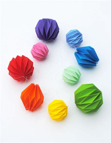 fun  creative diy christmas origami