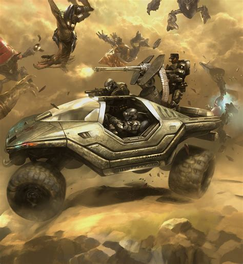 Concept Art Halo 3 Odst Lost Platoon 2d Digital