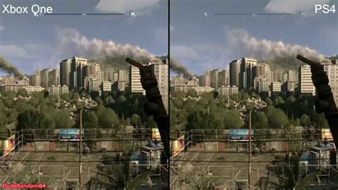 dying light 2 ps4 dying light ps4 vs xbox one graphics comparison 2 youtube