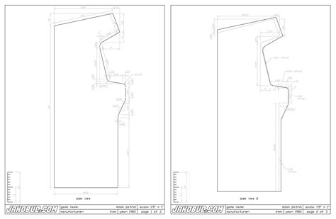 build arcade cabinet plans home arcade machine part 7 cabinet plans retromash