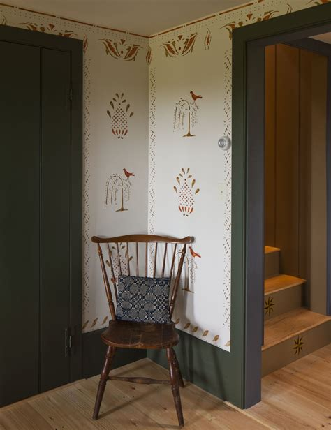 wallpaper  present perfect restoration design   vintage house  house