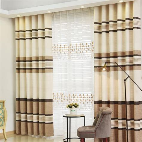 horizontal striped curtains horizontal striped thermal energy saving soundproof curtains