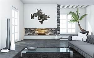 Decoration Murale Design : decoration murale bois new york design 77x60 cm loft industriel yorkais typographie acier patine ~ Teatrodelosmanantiales.com Idées de Décoration