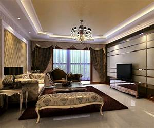 New home designs latest luxury homes interior decoration for Interior decoration in living room photos