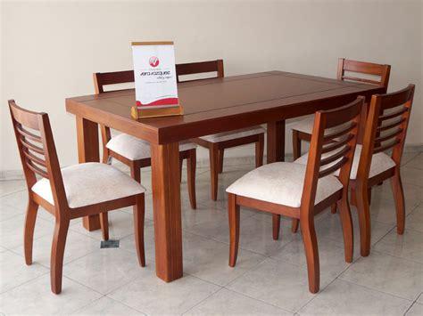 juego de comedor lineal  sillas cafe muebles vera vazquez