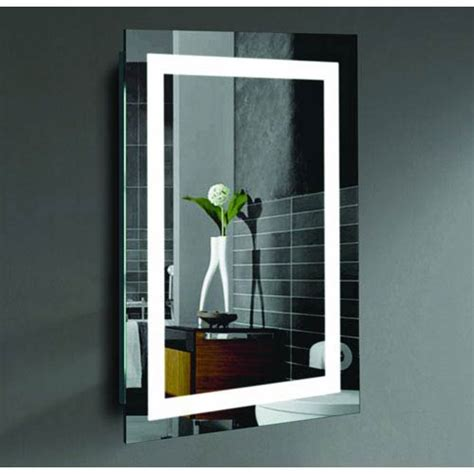 malisa 20 x 24 inch led lighted wall mirror by civis usa