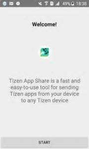 tizen app fastest app tool between android and tizen phones