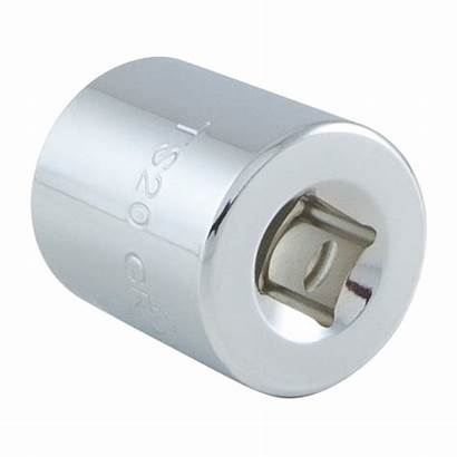 Square Socket Point Double Sae Standard Dr