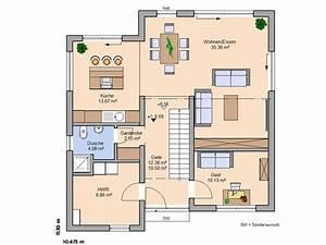 Toskana haus grundriss mit erker wohn design for Moderne grundrisse einfamilienhaus