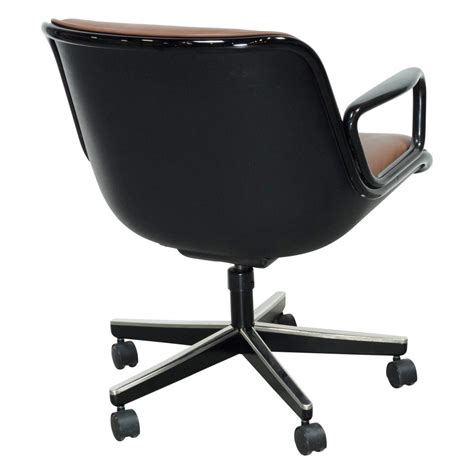 knoll pollock chair height adjustment knoll pollock executive leather used swivel chair