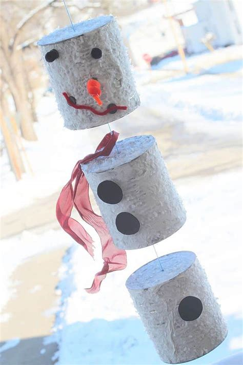 holiday season delights snowman themed crafts  kids