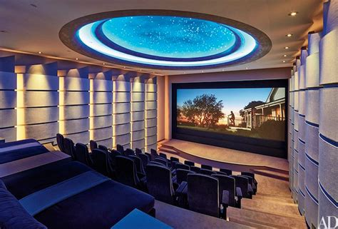 contemporarymodern home theaters homes   rich