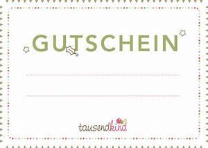 Gutschein Selber Ausdrucken : vorlagen zum ausdrucken tausendkind blog ~ Eleganceandgraceweddings.com Haus und Dekorationen