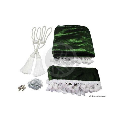 rideaux de cabine satines 5 accessoires vert bouteille road store