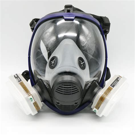 piece full face mask   gas mask full face