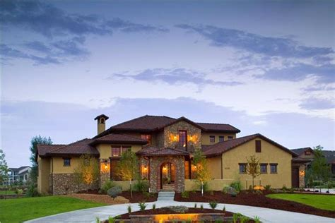 tuscan house plans  world charm  simple elegance