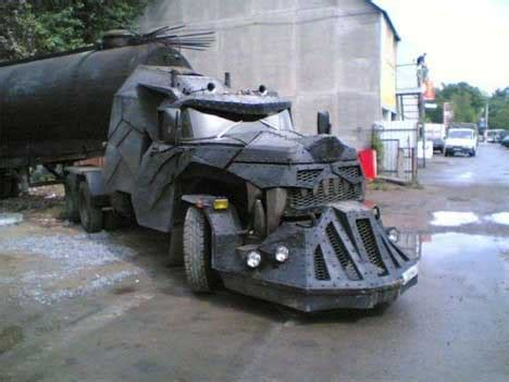 Diy Halloween Coffin Prop by In Russia Truck Drives You Crazy Dragon Semi Truck Mod