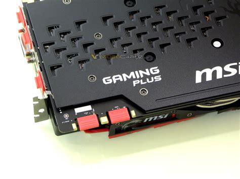 Msi Geforce Gtx 1080 Gaming X Plus Pictured Up Close