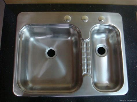 rv stainless steel kitchen sink bowl stainless steel sink for rv hs ssd2519l t 7 7853