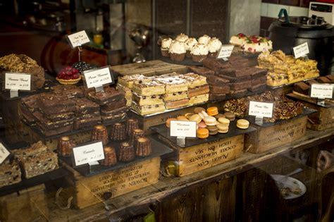 bakery  sweets   shop image  stock photo