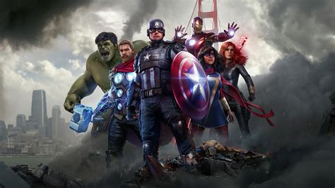 3840x2160 4k Marvels Avengers 2020 4k HD 4k Wallpapers ...