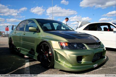 Green Mitsubishi by Green Mitsubishi Lancer Evo Benlevy