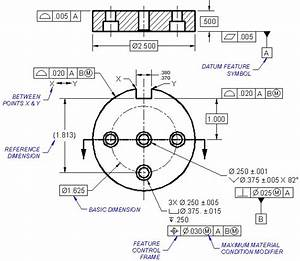 Geometric Dimensioning  U0026 Tolerancing In Engineering Drawings
