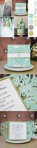 best 25 mint green wedding dress ideas on pinterest With laser cut wedding invitations minted