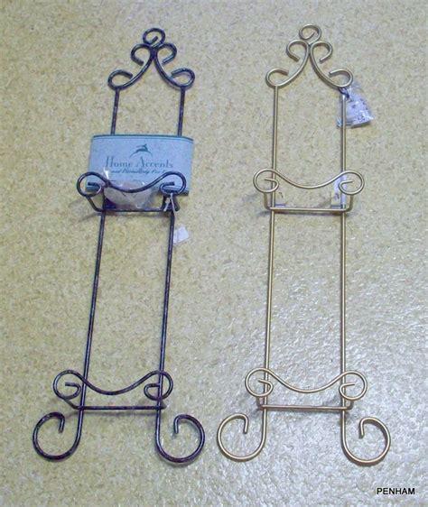 tripar  tier vertical plate metal rack holder frosted black   ebay