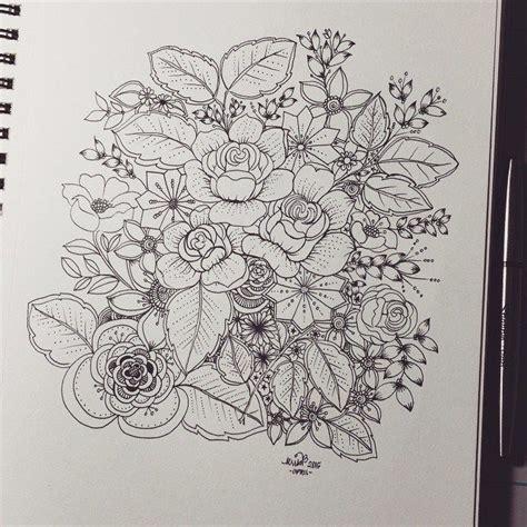roses  flowers zen doodle doodle art flowers