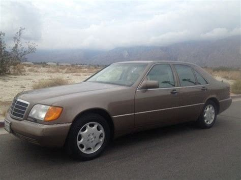 how do i learn about cars 1992 mercedes benz w201 electronic valve timing buy used 1992 mercedes benz 300se base sedan 4 door 3 2l in palm springs california united