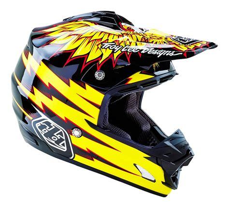 troy lee designs motocross troy lee designs new 2016 mx se 3 flight black yellow