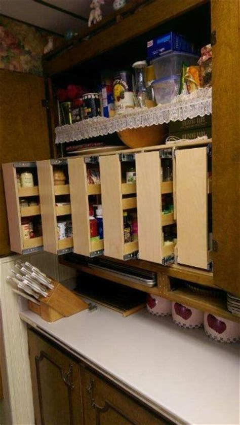 Roll Out Spice Rack by Verticle Roll Out Shelves Help Your Shelves