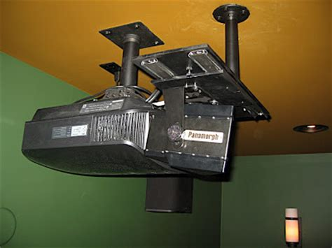 diy projector lift  limited space avs forum home