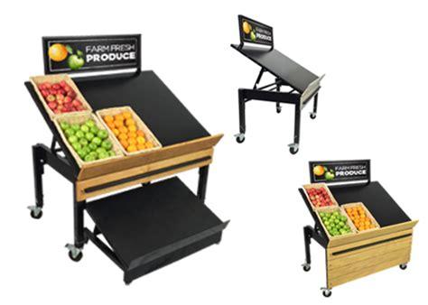 retail produce display tables produce racks produce display ideas fresh produce signs