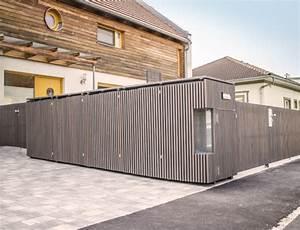 Gartenzaun Mit Tor : gartenzaun mit tonnenverbau walli wohnraum garten ~ Frokenaadalensverden.com Haus und Dekorationen