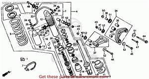 Honda Cr500r 1984  E  Usa Shock Absorber 84