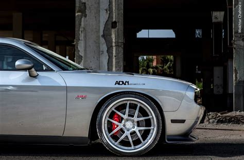 Dodge Challenger Rides On Adv1 Wheels Autoevolution