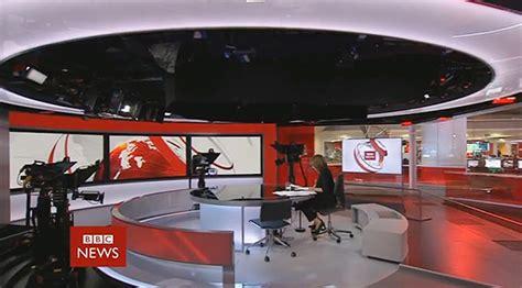 BBC News Studio E Broadcast Set Design Gallery